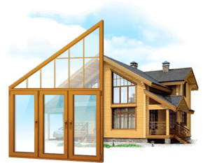 Остекление загородных домов и дач